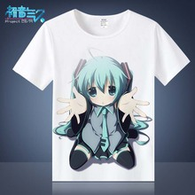 Buy Clothes Hatsune Miku T Shirt Anime Japanese Famous Animation Novelty Summer Men's T-shirt Cosplay Costume Clothing TX036 for $11.87 in AliExpress store