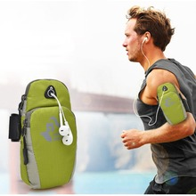 Sports Running Jogging Gym Armband Bag Case Cover Holder With Music Headset Hole-Fits Outdoor Sport Mobile Phone Arm Bags ISP