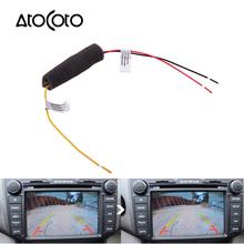 for AUDI Car Parking Camera Filter Rectifier Anti interference 12V DC Power Reverse Backup Camera for VW Most EU Car(China)