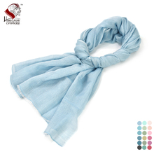 Nepalese Wool & Modal Blended Shawl High Quality Scarf Comfortable Warm Factory Bulk Price Free Shipping(China)