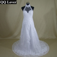 QQ Lover New 2017 Backless Mermaid Sexy Wedding Dress Applique Lace Beaded Wedding Gowns Bride Dresses Vestido De noiva Sereia