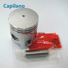 motorcycle piston kit with piston ring piston pin and piston pin lock for yamaha CT50 scooter 2 stroke engine parts(China)