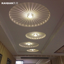 creative LED corridor porch lamp ceiling lamps downlight spotlights for home