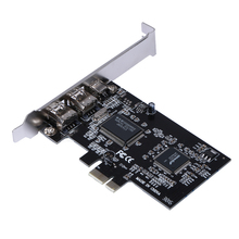 PCI Express x1 PCI-E FireWire 1394a IEEE1394 Controller Card support Windows XP/Vista/7 (32/64 bit)
