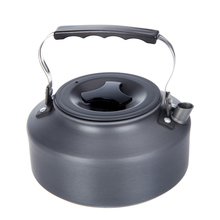 1.1L Portable Ultra-light Outdoor Hiking Camping Picnic Water Kettle Teapot Coffee Pot Outdoor Appliances(China)