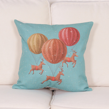 Fashion Cute Lovely Cushion Cover Chair Waist Seat Square 45x45cm Pillow Cover Home Garden Creative Gifts Outdoor Chair Cushions