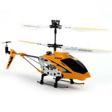 2 Colors Gyro S107 3.5CH Remote Control RC Helicopter Aircraft Metal with Carbon Fiber Helicopters Toys T30