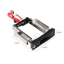 "Etmakit Hot Tool-free Serial ATA HDD Rom 3.5"" SATA SSD/HDD Mobile Rack with Trayless Hot Swap Internal Hard Drive Disk Enclosure"