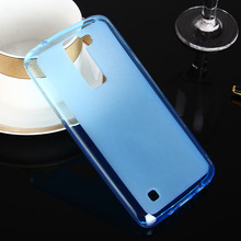 For LG K8 cell phone anti skid case funda,for LG K8 candy color tpu soft protective case guard shell Bag LGK8 Old phone Not 2017(China)