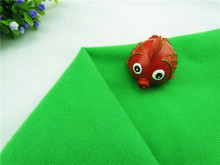 1 meter Green fabric for DIY sewing Stuffed toy sofa furniture material Warp knitted brushed Plain Loop