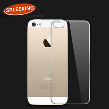 SRLEEKING the anti-ray screen protector 9H tempered glass Back after Protector For iphone 5 5S back Protective film(China)