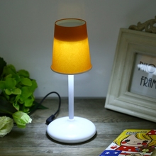 New Arrival DIY Creative LED Paper Cup Lamp USB Powered Reading Light DC USB Supply Room Decoration Table Lamp Night Light+5 cup(China)