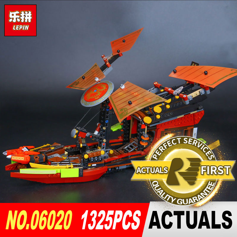 Lepin 06020 Genuine 1325Pcs Movies Series Final Fight of Destiny The Bounty Building Blocks Bricks Toys Model Compatible 10402<br>