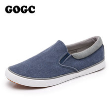 GOGC 2019 New Arrival Men Casual Shoes Canvas 남성 신발쏙 ~ 편안한 평 Sneakers 무사 Shoes Men 로퍼 Slipony G984(China)