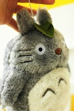 Free Shipping New Totoro plush toys, home decor Totoro doll, sucker pendant car accessories, baby toy Christmas gifts