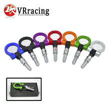 VR RACING- European Car Auto Trailer Hook Eye Tow Towing Racing Front Rear Universal Tow Hook VR-THBE61