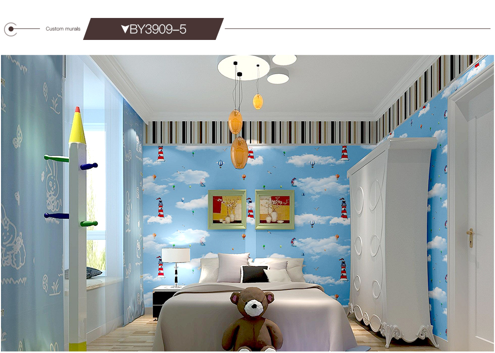 HTB19sBFx7yWBuNjy0Fpq6yssXXat - Custom Size 3D Cartoon Wallpaper Mural For Kids room