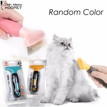 Quick Clean Pet Grooming Tools Stainless Steel Comb Rake Dog Cat Puppy Kitten Shedding Hair Removes Most Tangles Brush