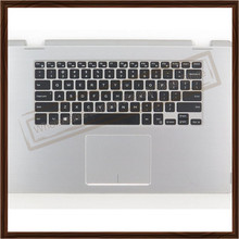 Original 95% New Top Case With US Keyboard Touchpad for Dell 15-7000 15 7558 US Laptop Keyboard Replacement