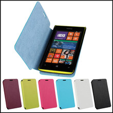 Slim Cover Case For Nokia Lumia 520 Flip Leather Stand Mobile Phone Accessory Bag Case Cover Protective For Nokia Lumia 520