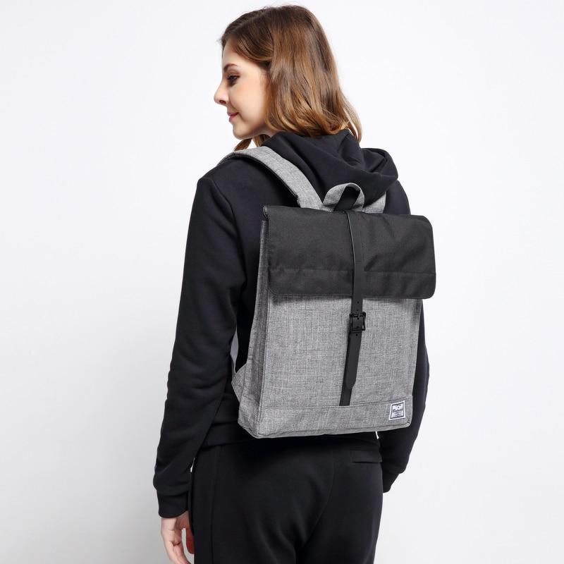Hot schel Style Classic 14 Inch Men Women Unisex Nylon Backpack 2016 Famous Brand Waterproof Laptop Bag Mochila Escolar<br>