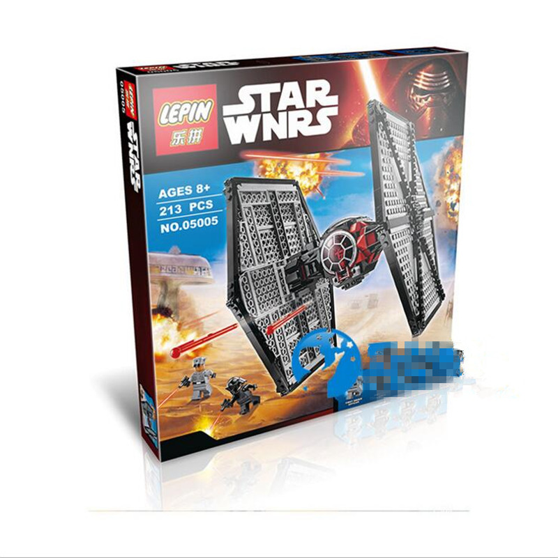 Lepin 05005 First order Special Forces TIE Fighter Star Wars Building Block 213Pcs Bricks Toys<br><br>Aliexpress