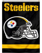 5 Color Pittsburgh Steelers Helmet Team American Outdoor Indoor Football College House Flag 3X5 Custom Any Flag