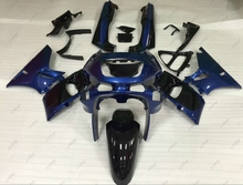 Plastic Fairings Zzr 400 95 96 Bodywork for Kawasaki Zzr400 95 96 1993 - 2007 Black Blue Fairing Kits Zzr400 95 96