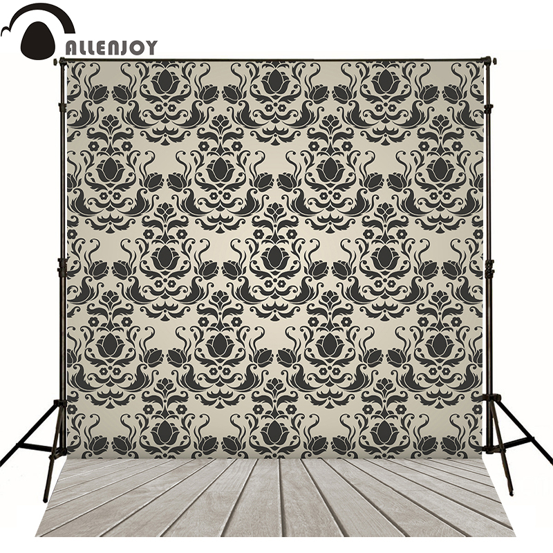 Allenjoy photography backdrops interior damask luxury elegant backgrounds for photo studio send rolled vinyl bokeh classical<br><br>Aliexpress