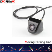Genuine KOORINWOO New Car Rear View Camera Moving Dynamic Trajectory Parking Guide Lines Backup Reverse Cam Parking Assistance