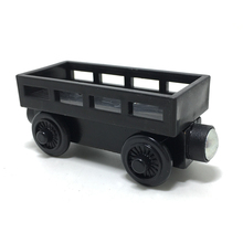 w17 Wood toy train magnetic Thomas & Friends Wooden color black carriage Transport vehicles children / children's Christmas gift(China)