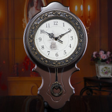 Vintage Wall Clock Saat Retro Large Wall Clocks Relogio de Parede Reloj de Pared Mute Horloge Murale Quartz Watch pendulum Clock