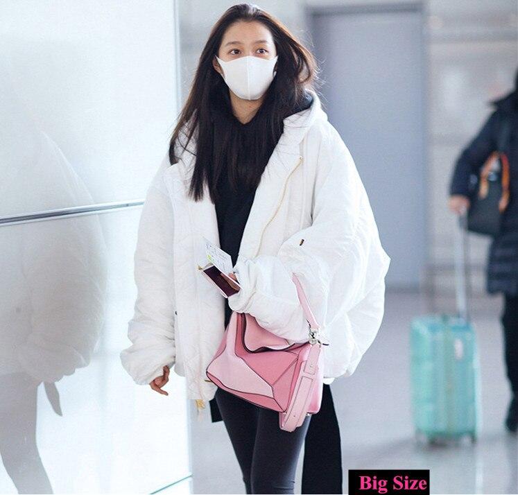 Luxury Handbag Women Bags Designer Inspired High Qyality Genuine Leather Shoulder Bag (9)