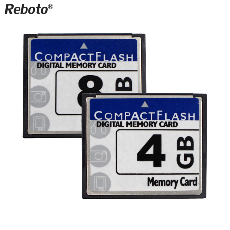 Reboto High Speed CF Card 2GB 4GB 8GB 16GB 32GB 64GB Compact Flash CF flash memory Card Free Shipping(China)