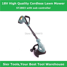 ST2803 18V cordless lawn mower/electric grass trimmer/flexible hand lawnmower/Sier rechargeable trimmer