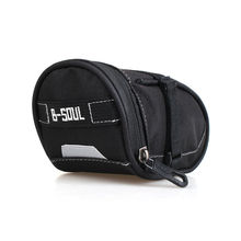 Nylon Bicycle Bag Bike Saddle Bag Seat Pack MTB Cycling Bag Large Space Rear Back Bag Pouch On-Bike Pack(China)