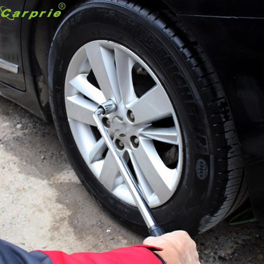 Car Van Extendable Wheel Lug Nut Wrench Tyre Tools Brace Socket 17//19mm 21//23mm