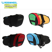 Buy ROSWHEEL Mini Cycling Bicycle Accessories Outdoor Bike Saddle Pouch Seat Tool Bag ciclismo bicicleta saco 4 Colors for $8.07 in AliExpress store