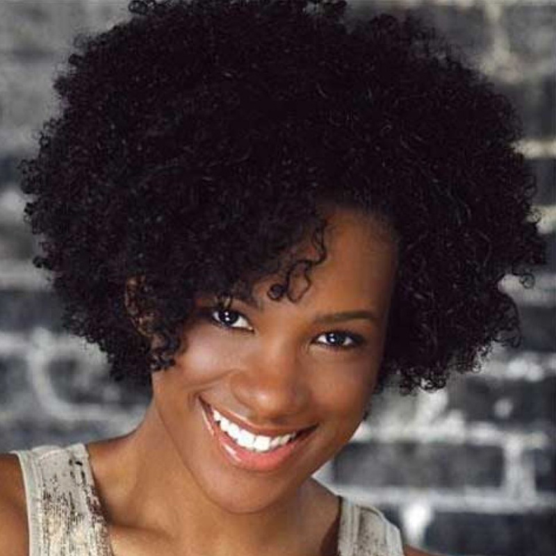 Virgin Short Afro Kinky Curly Natural Hair Synthetic Cosplay Party Wigs for Black Women Heat Resistant + free wig cap sw8674<br><br>Aliexpress