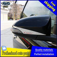 CDX For Toyota Camry Rearview mirror chrome trim car styling 2015 2016 For Camry Mirror stickers Car Special high-quality ABS