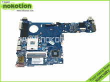 NOKOTION for Hp Elitebook 2560p Intel Laptop Motherboard 651358-001 QM67 Chipest GMA HD3000 DDR3 Intel Mother Board(China)