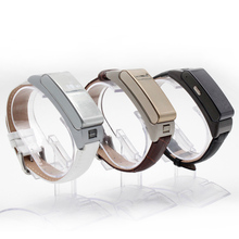 A9 Smart Bracelet Talk tand Band Bluetooth Headset bracelet with Pedometer Music Sleep Monitor for Android IOS pk U watch U20