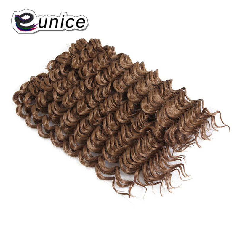 3 Bundleslot Fashion synthetic braiding hair 10inch Freetress Jerry Curl Crochet Braid  (51)