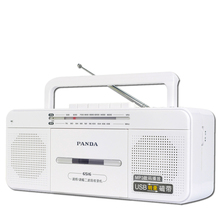 Panda 6516 Recorder Tape Transcription One Touch Record U Disk USB Dual Speaker Play Radio(China)