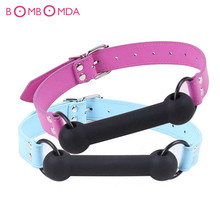 Buy Stick Mouth Gag Dog Bone Cosplay Fetish Restraint Bondage Adult Game Couples Flirting Sex Products Toys Novelty Product O3