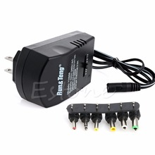 AC DC Universal Adapter Converter 3 4.5 6 7.5 9 12V US Power Charger 2.5A 30W