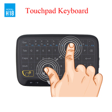 New Full Touch Keyboard 2.4G Wireless Keyboard Large Touchpad Mini Keyboard for Android TV Box Laptop PC Tablet Raspberry Pi 3