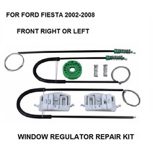 CAR WINDOW KIT FOR FORD FIESTA ELECTRIC WINDOW REGULATOR REPAIR KIT FRONT LEFT or RIGHT 2/3 N/S 2002-2008