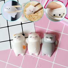 New cute Mochi antistress ball Mini Squeeze Squishy cat Cute Kawaii doll Squeeze Stretchy Animal Healing Stress kids adults toys