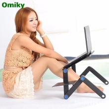 Wholesale Adjustable Vented Laptop Table Laptop Computer Desk Portable Bed Tray Book U0314